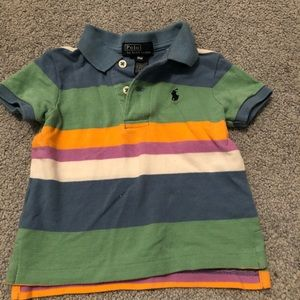 9 month stripped polo Ralph Lauren